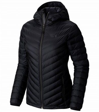 Micro Ratio Hooded Down Insulated Jacket