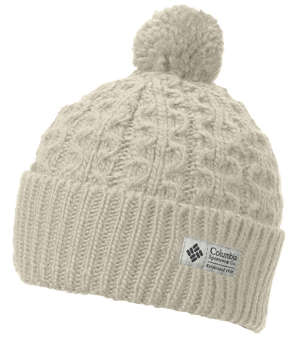 f4c1a6fce95377 Columbia Womens Hideaway Haven Beanie Light Bisque