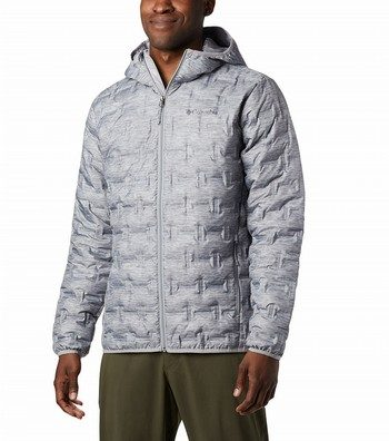 Delta Ridge Down Hooded Insulated Jacket