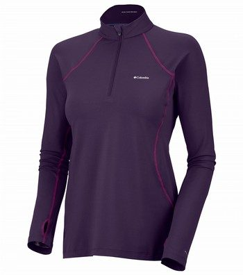 Midweight 1/2 Zip L/S Baselayer top