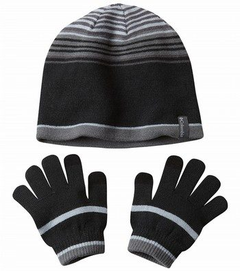 Hat and Glove Winter Set