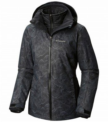 Whirlibird Print Interchange 3 in 1 Ski Jacket