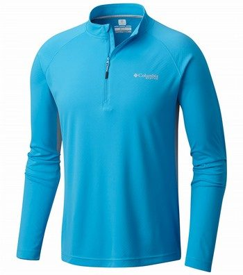 PFG Cast Away Zero II 1/4 Zip Top