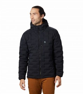 Super/DS Stretchdown Hooded Insulated Jacket