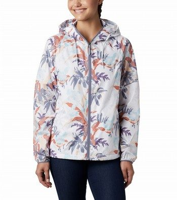 Side Hill Printed Windbreaker