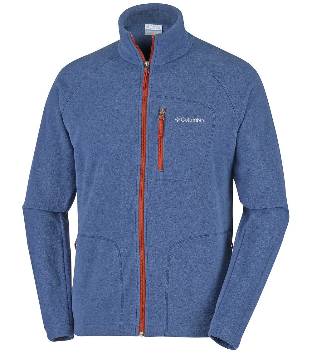 Columbia Mens Fast Trek Ii Full Zip Fleece Jacket Night