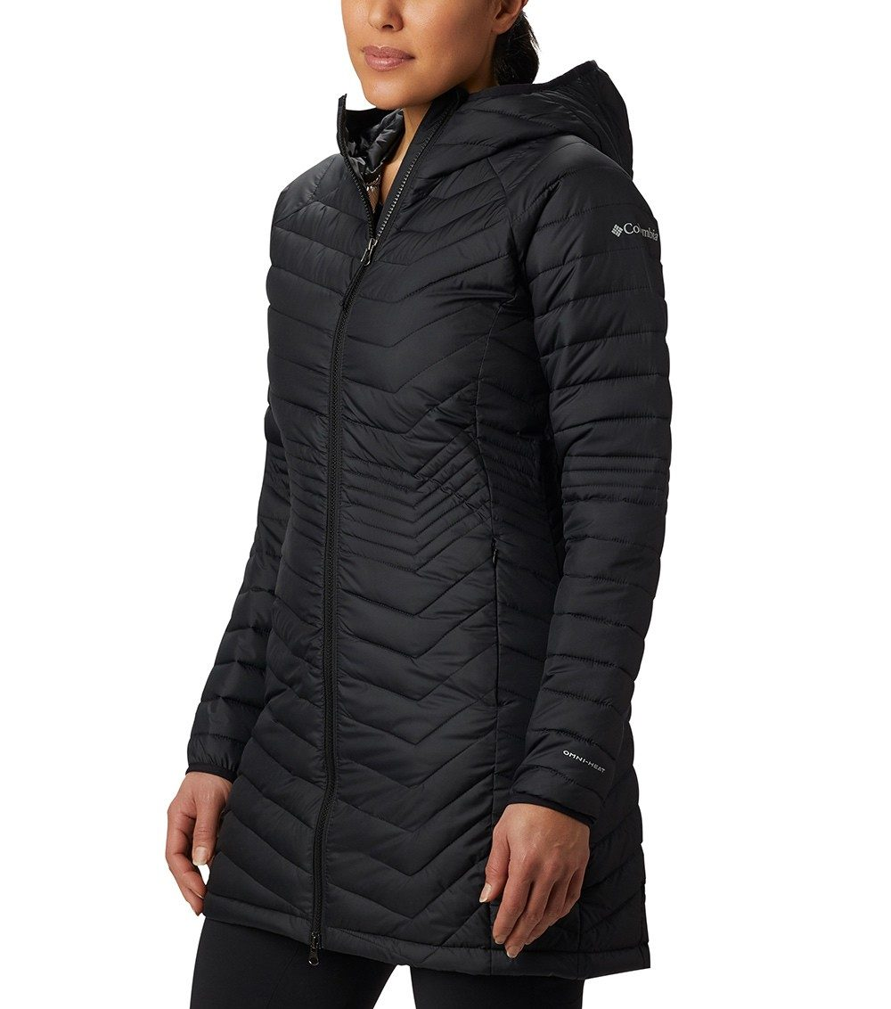 Columbia Womens Powder Lite Mid Insulated Jacket Black